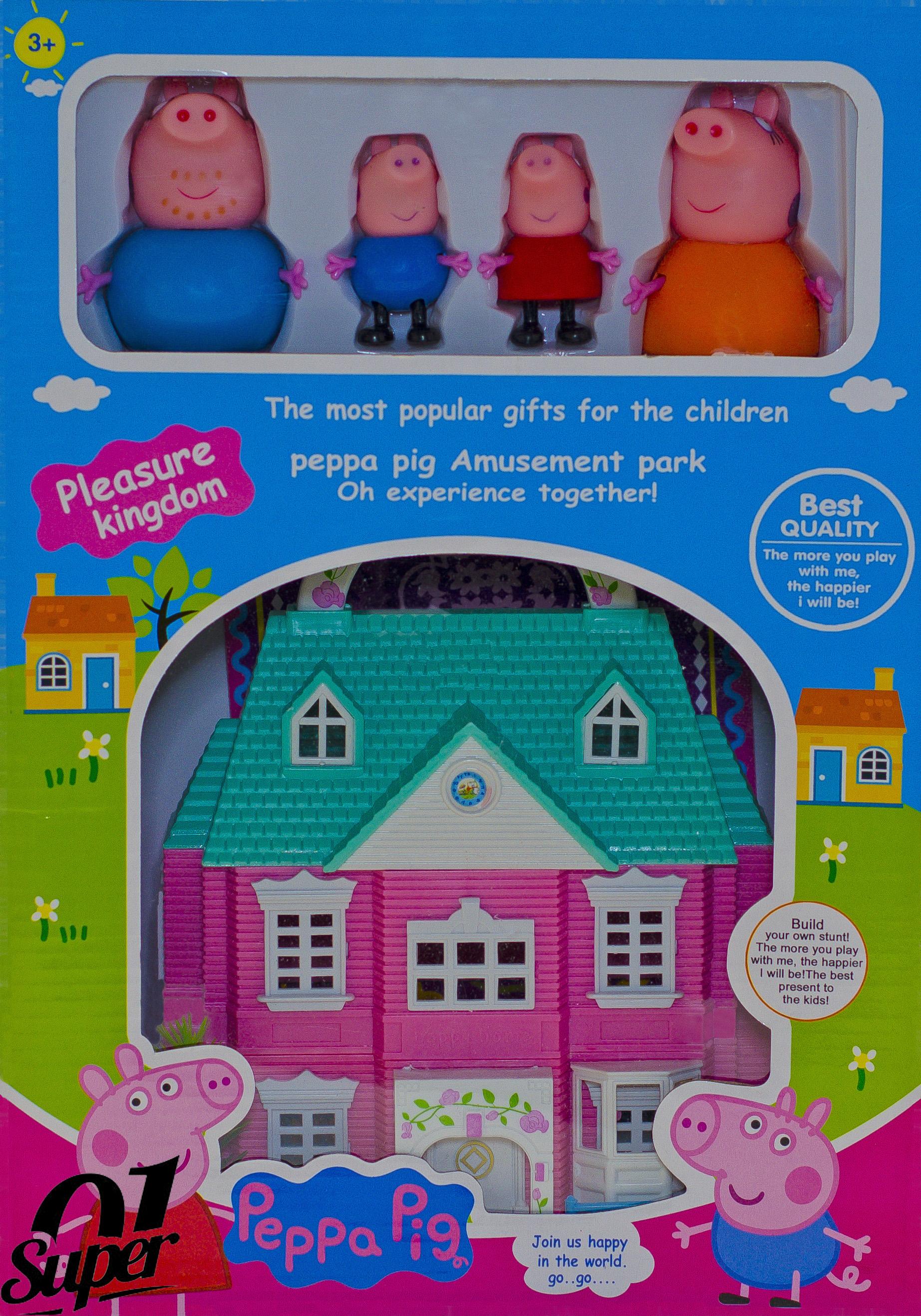 Конструктор Peppa Pig Любимый дом свинки Пеппы, 107